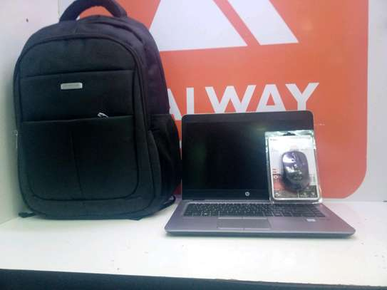 Hp 840 corei5 G3 ,,laptop bag & wireless mouse offer image 3