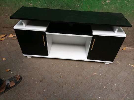 Black and white tv stand 085 image 1