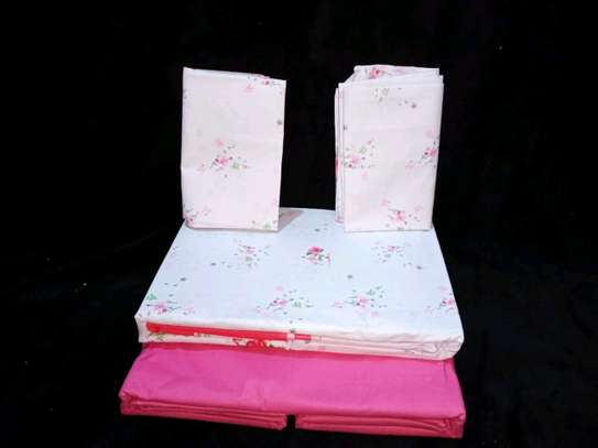 Cotton bedsheets 6*6 image 5