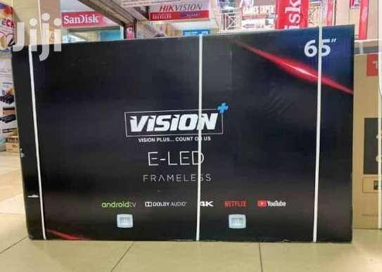 New Vision 65 inches Smart UHD-4K Digital Frameless TVs image 1