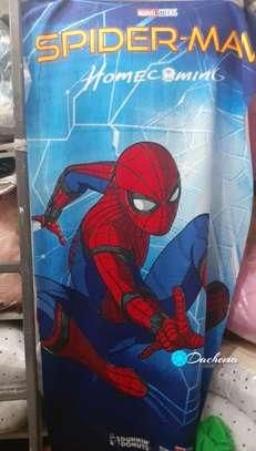spider man kids bathing towel image 1