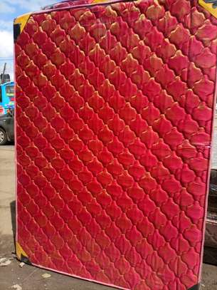 4 by 6(Twin Size) 8inch Heavy Duty Quilted Mattresses. Free Delivery image 1