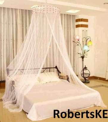 cream white Mosquito nets image 1