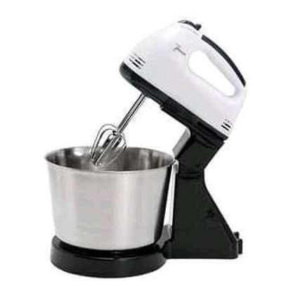 Hand mixer with bowl image 1