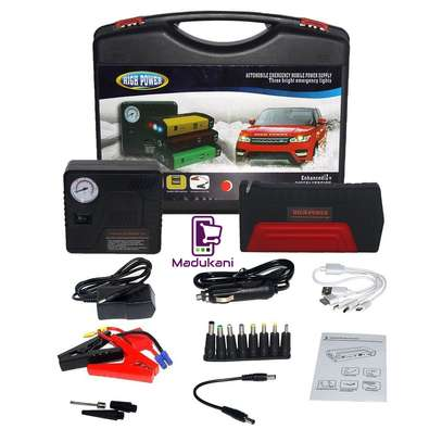 Jump Starter Pack with Inflator and Charger