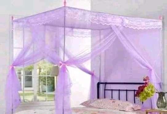 Straight mosquito net image 1