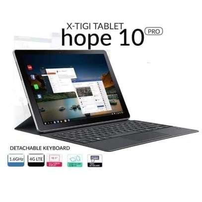"X Tigi Hope 10 Pro Tablet, 10.1"", 4GB RAM + 32GB ROM(Dual SIM), 6000mAh, 4G LTE, Grey image 1"