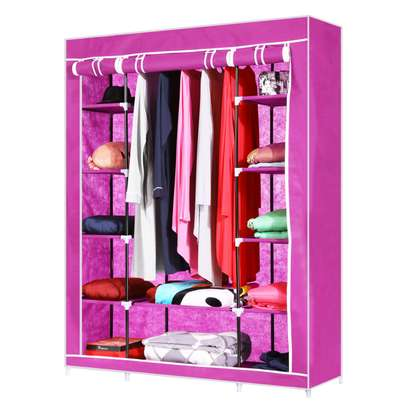 PORTABLE WARDROBE 3 COLUMN