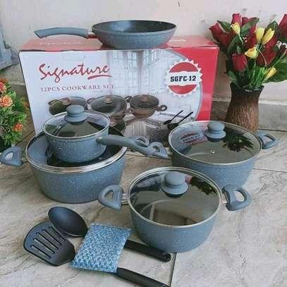 Signature Granite Cookware set image 1