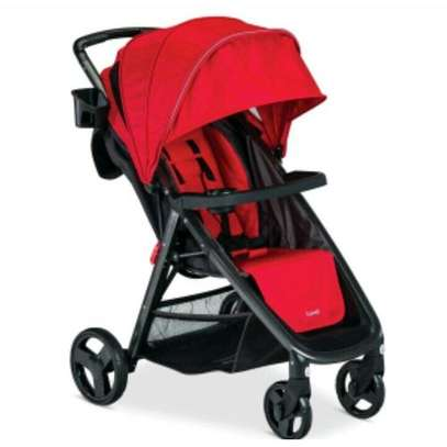 Baby Stroller - Red image 1