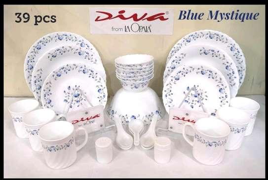 39pc dinner set/ diva dinner set/opal dinner set image 1