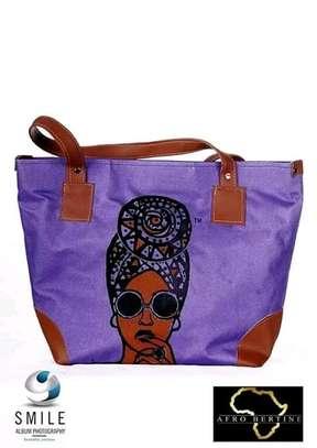 Ladies single queenbag,purple image 1