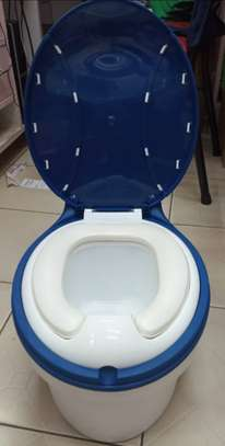 Children Simulation Toilet Infant Pony Bucket Potty Seat with Removable Inner Bucket image 5