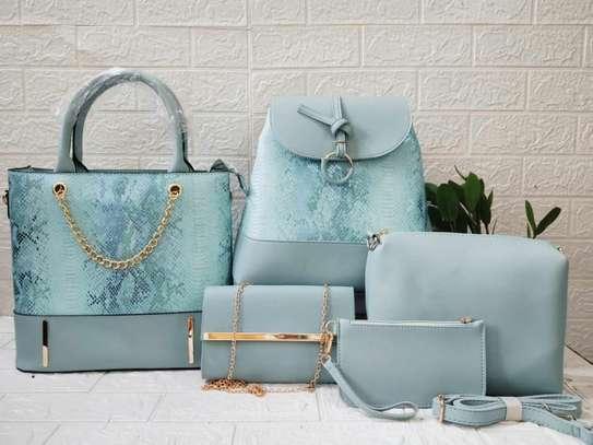 5 in 1 ladies handbags