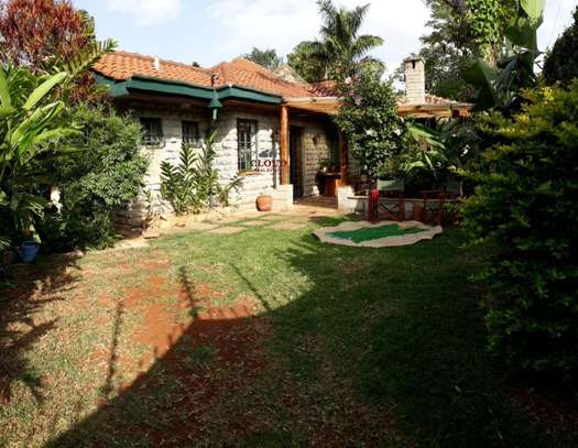Furnished 1 bedroom house for rent in Runda image 1