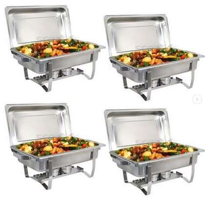 Chaffing dish/food Warmers- 3 partition