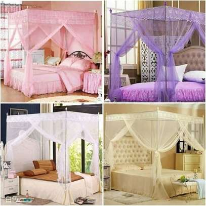 Mosquito nets with firm metallic stands image 1