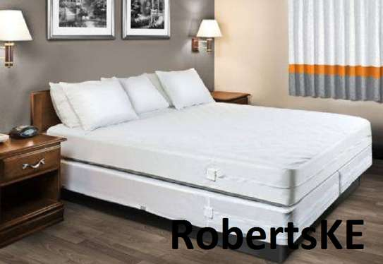 fancy white mattress cover image 1