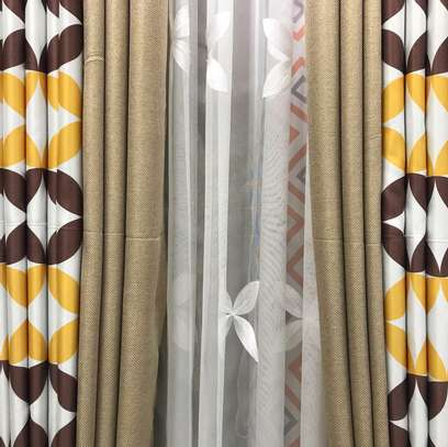 Curtains and Curtains and sheers per meter 1200 plus free stitching image 7