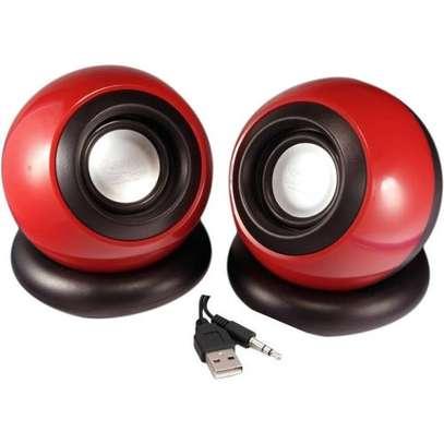 Multimedia speakers 2.0 USB. image 1