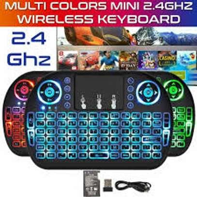 Ri8 mini keyboard for smart tv android tv box image 2