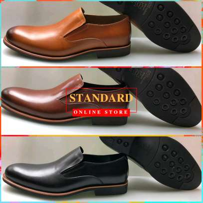 Men's Official Italian Leather Shoes with rubber sole image 11