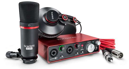 Focusrite Scarlett 2i2 Studio (2nd Gen) USB Audio Interface and Recording Bundle with Pro Tools image 1