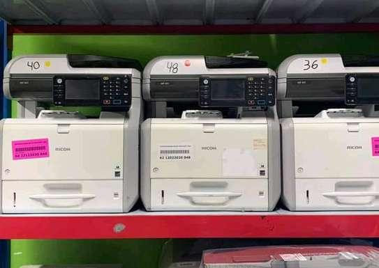 Digital RICOH Aficio MP 401 Photocopier Machine image 1
