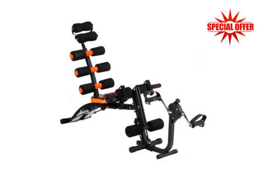 6 Pack Care Exercise Machine with Peddle image 1