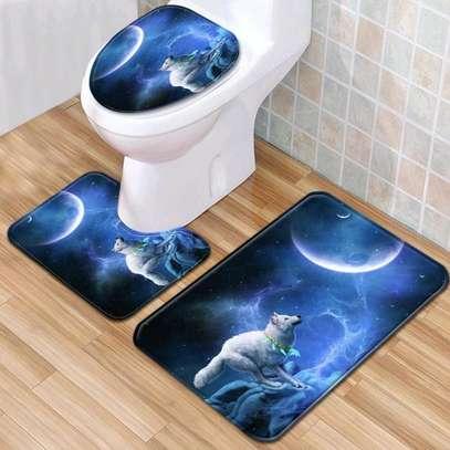 3 in 1 bathroom mats image 1