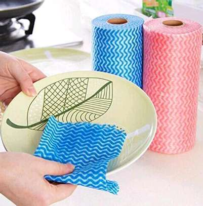 Re~usable paper towel roll mat image 3