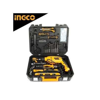 ingco 101 pcs 850 watts drill set. image 1