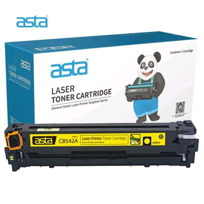 125A yellow cartridge CB542A printer number HP Color LaserJet CP1515n/CP1518ni and HP Color LaserJet CP1215 and HP LaserJet P1505 Printer series; and HP Color LaserJet CM 1312MFP and HP LaserJet M1522MFP and HP LaserJet M1120MFP. image 3