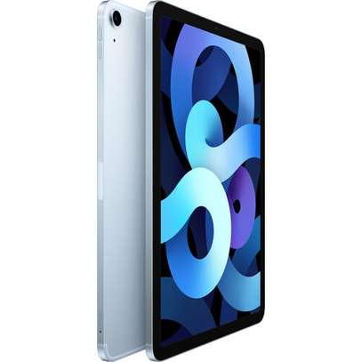 "Apple 10.9"" iPad Air (4th Gen, 256GB, Wi-Fi + 4G LTE, Sky Blue) image 2"