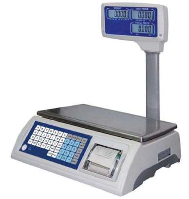 thermal printer digital scale. image 1