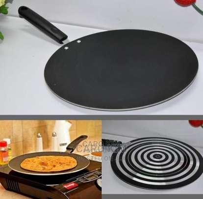 Flat Non-stick Chapati Pan image 1