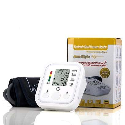 Arm Blood Pressure Upper Arm Fully Automatic Monitor Heart Beat Meter image 3