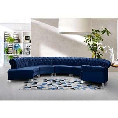 Blue L shaped sofas for sale in Nairobi Kenya image 1