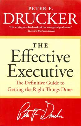 The Effective Executive image 1