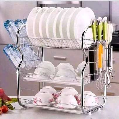 3 tier dish rack/dish drainer image 1