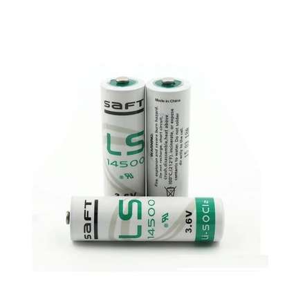 Saft LS 14500 lithium Battery 3.6v Non Rechargeable Lithium Battery Battery image 1