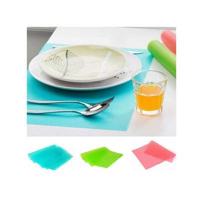 Colorful Fridge Mats - 4 Pieces image 1