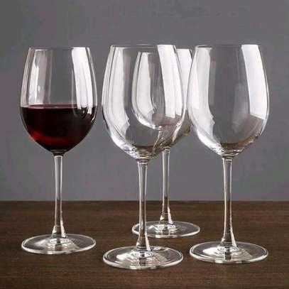6 piece wine glasses image 1