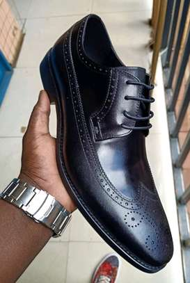 Sergio Matteo Leather Official Shoes 38 to 45 Ksh.4500 image 1