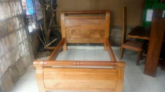 4*6 mahogany bed image 1
