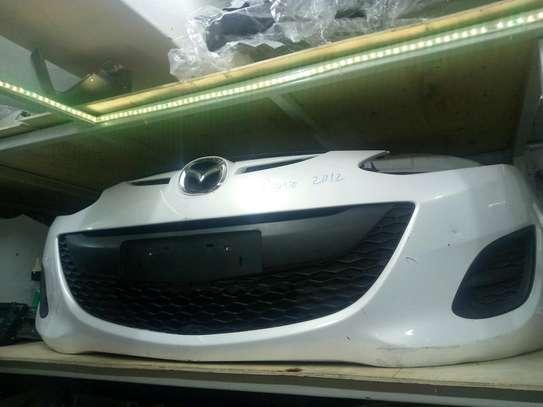 Ex japan mazda demio 2012 front bumper image 1