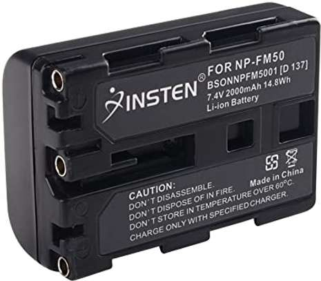 Sony Genuine - Battery Pack - NP-FM50 image 2