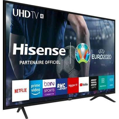 HISENSE 55 INCH 4K UHD SMART LED TV  2019 MODEL image 1