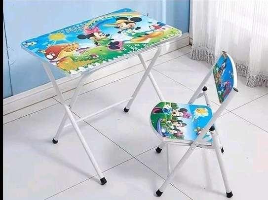 Kids foldable chair+foldable seat set image 3