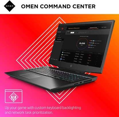 Omen by HP 2019 17-Inch Gaming Laptop, Intel i7-9750H, NVIDIA GeForce RTX 2060 (6 GB), 16 GB RAM, 512 GB Solid-State Drive, VR Ready, Windows 10 Home (17-cb0070nr, Shadow Black) image 2